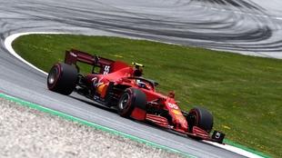 Carlos Sainz en la Clasificación del GP Estiria