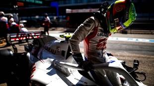 Mick Schumacher, acomodándose en el Haas de esta temporada