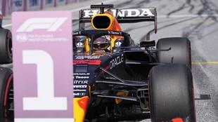Verstappen, pole en el Gran Premio de Estiria.