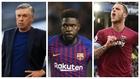 Ancelotti, Umtiti o Arnautovic, algunos de los nombres propios del...