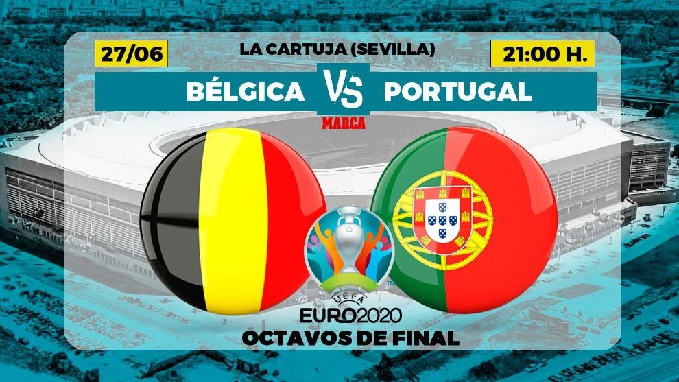Belgium - Portugal, live | Euro 2021 - Archysport