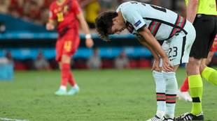Joao Félix se lamenta tras la eliminación de Portugal