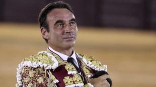 """Comunicado de Enrique Ponce para retirarse """"por tiempo..."""