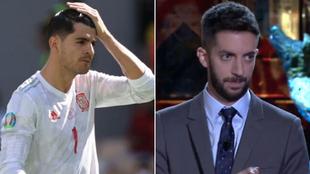 'La Resistencia' trolea a Álvaro Morata tras su gol a Croacia y el futbolista responde en Instagram