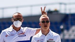Nikita Mazepin en el GP de Estiria