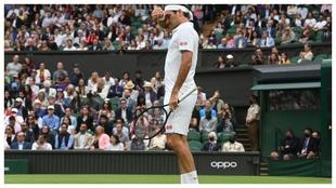 Federer Mannario Wimbledon