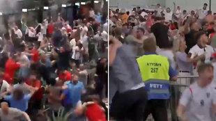 Las 'explosiones' de locura que demuestran lo que supone para Inglaterra ganar a Alemania