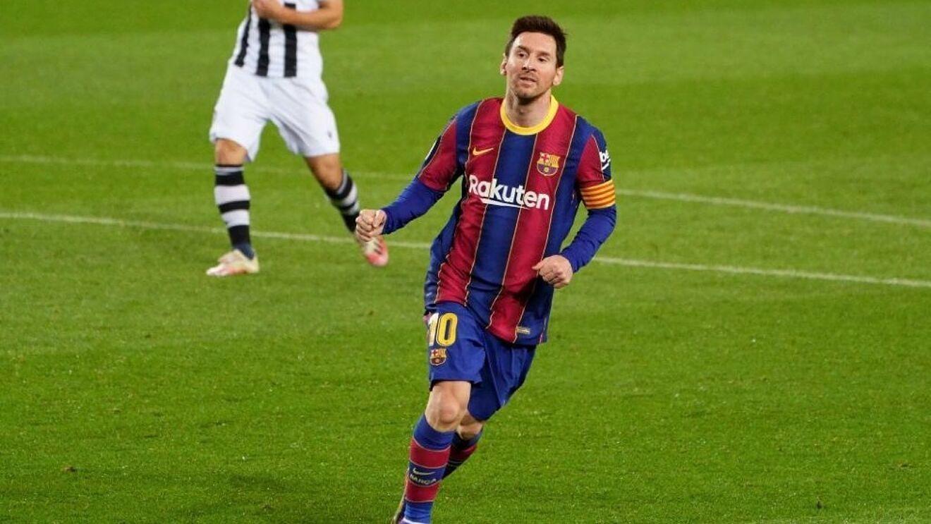 Leo Messi en un partido de esta temporada contra el Levante.