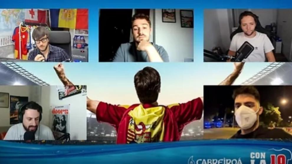 Con la 10, el programa de MARCA durante esta Eurocopa en Twitch