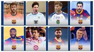Los elegidos en el 'Equipo Ideal' de la Liga Asobal 2020/21...