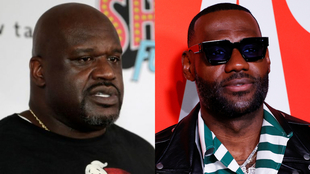 Shaquille O'Neal y  LeBron James |