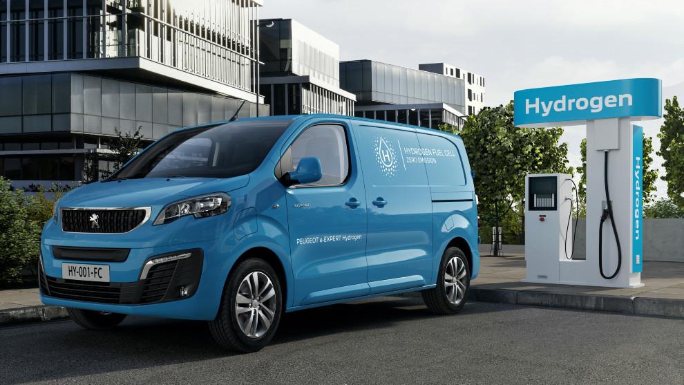 Peugeot e-Expert Hydrogen - Furgoneta de hidrogeno - Hidrogenera - Pila de combustible