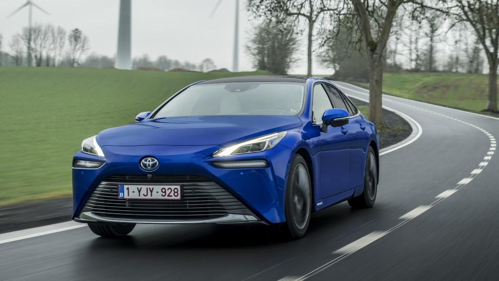 Toyota Mirai - Hidrogeno - Pila de combustible