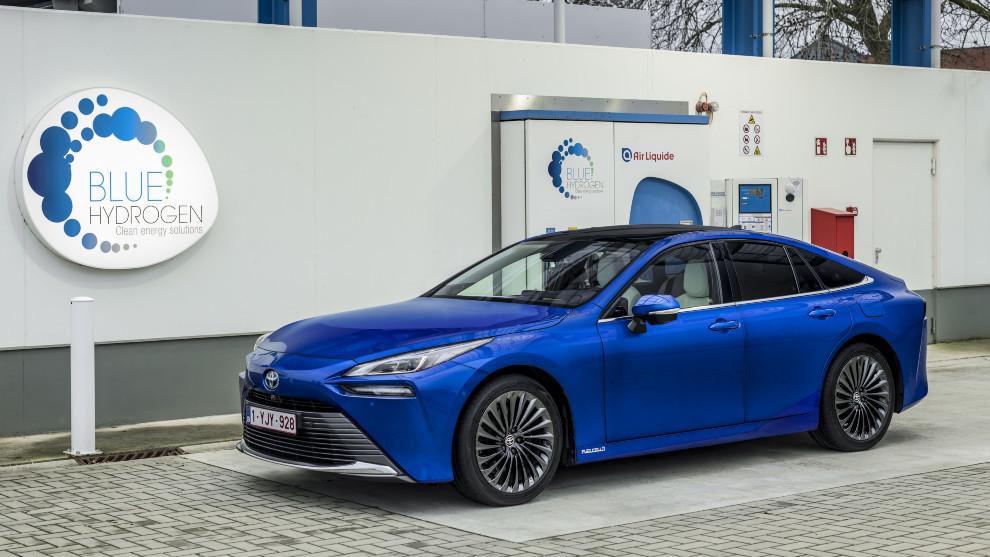 Toyota Mirai - Coche de hidrogeno - Pila de combustible