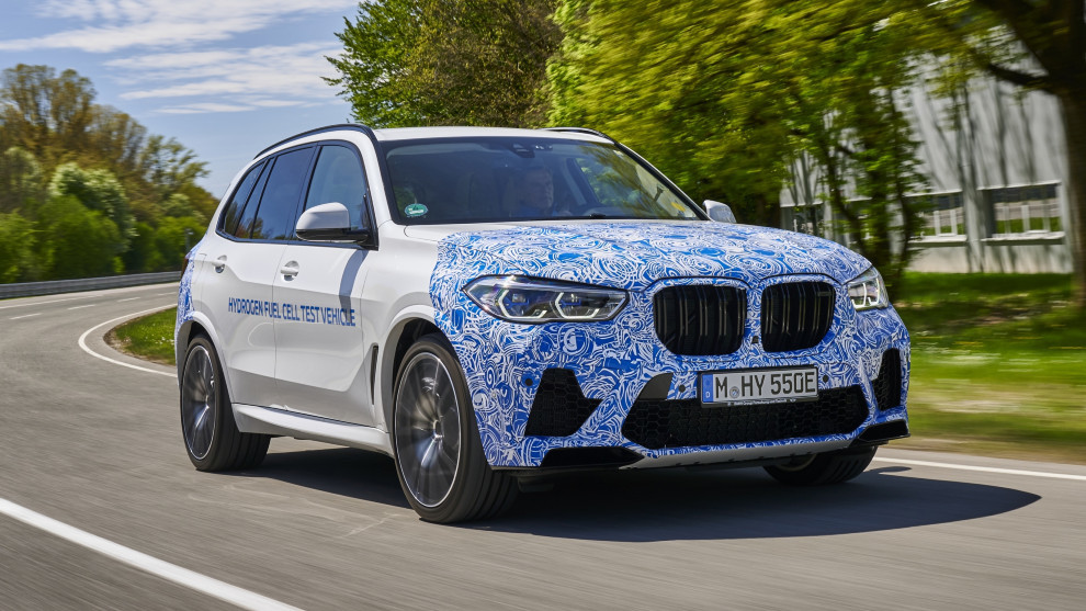 BMW i Hydrogen Next - Hidrogeno - Pila de combustible - Hidrogenera