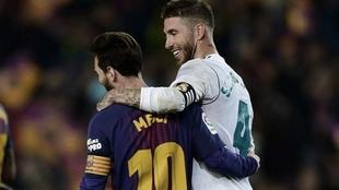 Messi and Ramos.