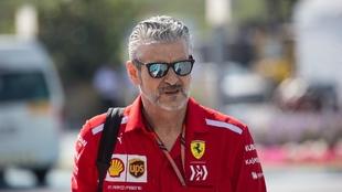 Maurizio Arrivabene en el Gran Premio de Abu Dabi 2018