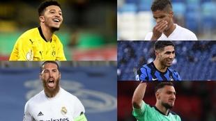 Sancho, Ramos, Varane, Achraf y Donnarumma, nombres propios del...