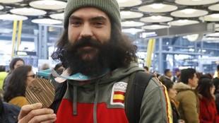 Regino Hernández, con el bronce en boardercross ganado en...
