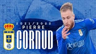 Pierre Cornud ficha por el Oviedo.