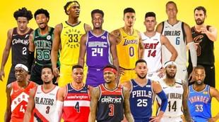 Los 15 jugadores estrellas de la NBA que podrían cambiar de equipo.
