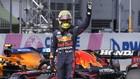 Max Verstappen celebra la pole en el GP de Austria 2021