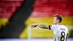 Kroos, en un partido con Alemania en esta Eurocopa.