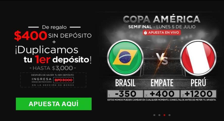 Brasil vs Perú, semifinal Copa América 2020