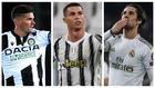 Rodrigo De Paul, Cristiano Ronaldo e Isco.