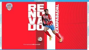 Campabadal renueva por una temporada más con el CCD Lugo.