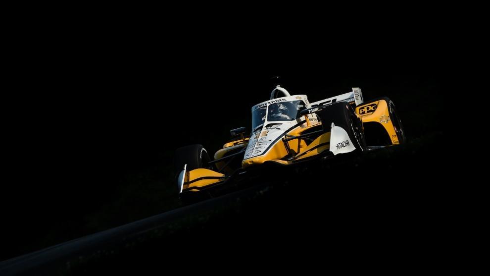 Josef Newgarden - Mid Ohio - Indycar - Penske - primera victoria