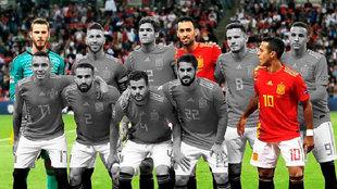 Sólo De Gea, Busquets y Thiago, del once de Luis Enrique en Wembley,...