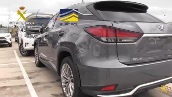 Lexus RX 450h - Coches hibridos robados