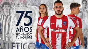 El genial vídeo del Atlético para presentar su nueva equipación