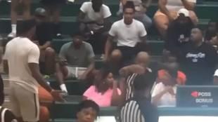 LeBron monta un numerito a lo padre histérico en un partido de su hijo