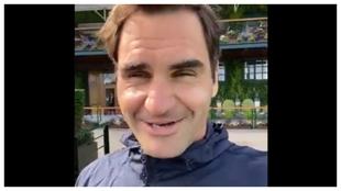 Federer se despide de Wimbledon