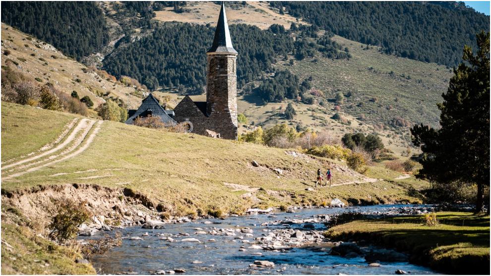 Una imagen del recorrido de Val d'Aran by UTMB.