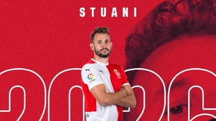 Stuani (34) renueva hasta 2026.