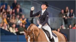 Beatriz Ferrer Salat, en la Madrid Horse Week de 2018.