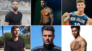 Elegidos los 11 jugadores más sexis de la Eurocopa