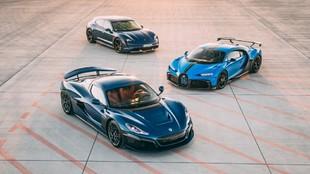 Bugatti Rimac - Porsche - joint venture - hypercar - hiperdeportivos -...