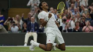 El pupilo de Toni Nadal protagoniza el bombazo de Wimbledon