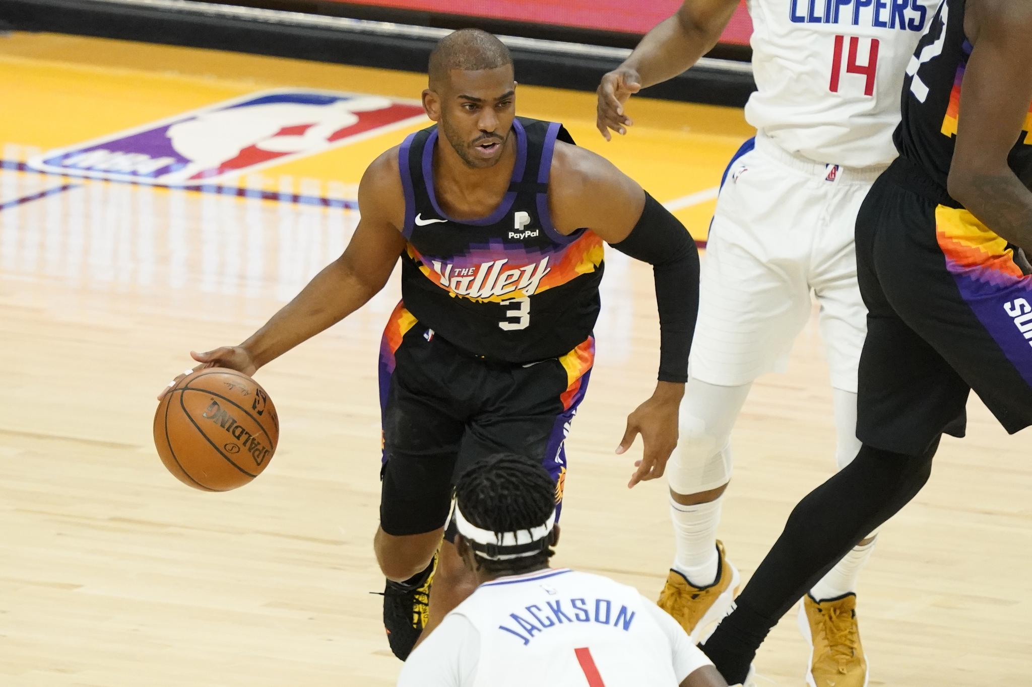 Phoenix Suns guard Chris;Paul
