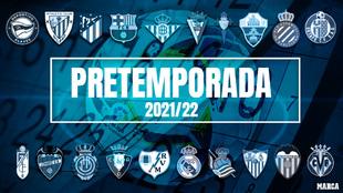 Calendario de partidos de pretemporada de los equipos de Primera