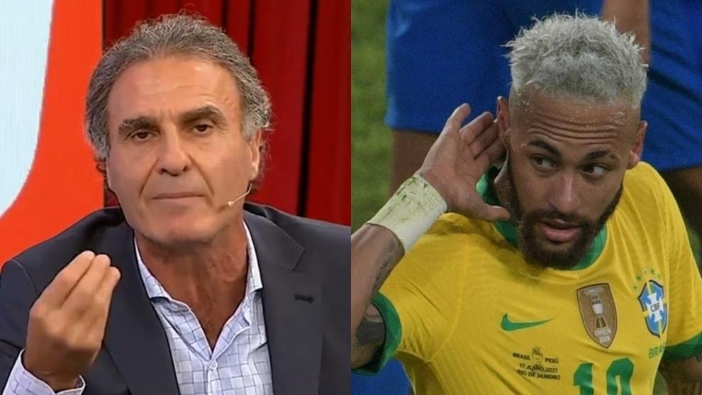 """""""Neymar no tiene códigos, le pegaría una buena patada"""""""