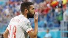 Alba, celebrando el gol ante Suiza