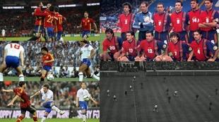 España en Wembley: la liberación de Quini, el 'gigante' Seaman, la caja de cigarrillos, Isco...