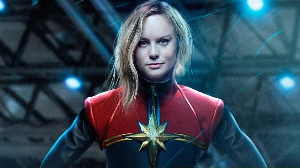 Brie Larson, en el papel de Capitana Marvel.
