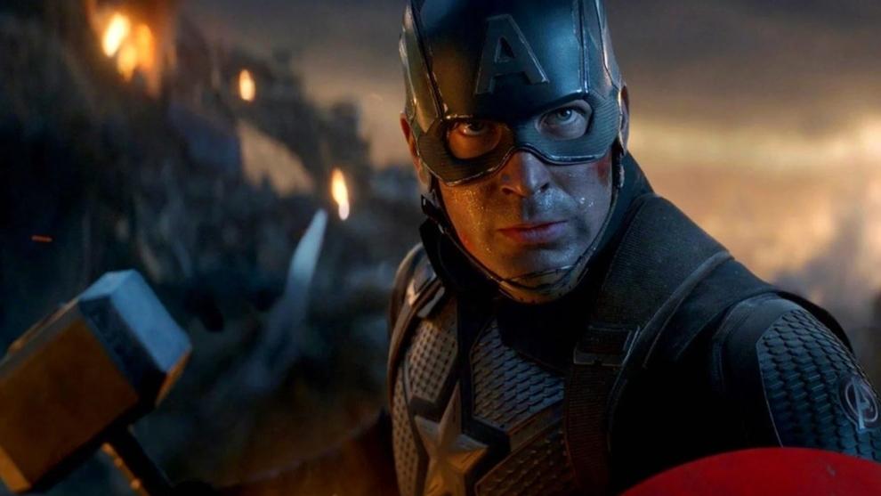 Chris Evans, en el papel de Capitán América.