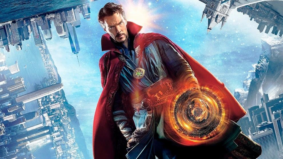 Benedict Cumberbach, en el papel de Dr. Strange.